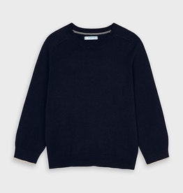 Mayoral Navy Cotton Boys Sweater