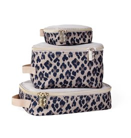 Itzy Ritzy Packing Cubes (Pack of 3) - Leopard