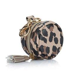 Itzy Ritzy Diaper Bag Charm Pod Keychain - Leopard