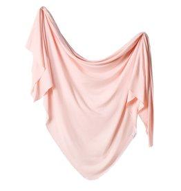 Copper Pearl Knit Blanket - Blush