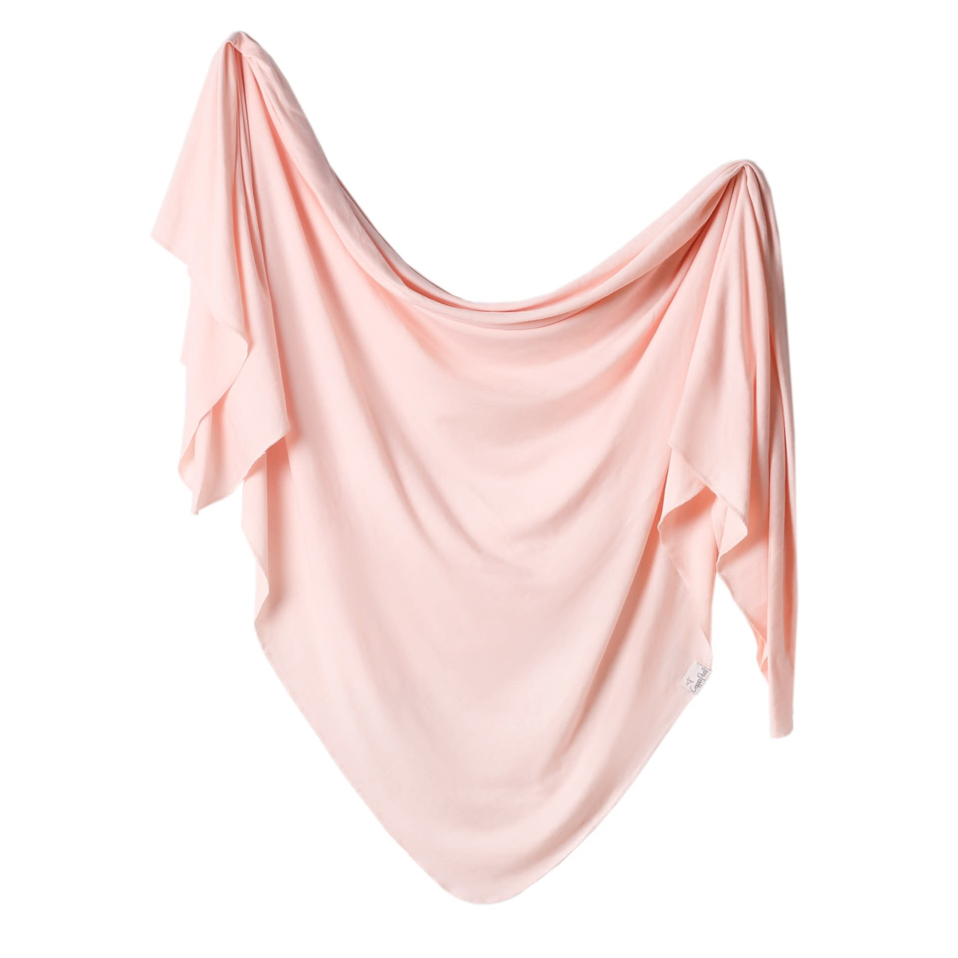 Copper Pearl Knit Blanket - Blush