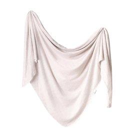 Copper Pearl Knit Blanket - Oat