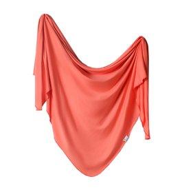 Copper Pearl Knit Blanket - Stella