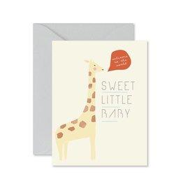 Ginger P. Designs Giraffe Sweet Little Baby