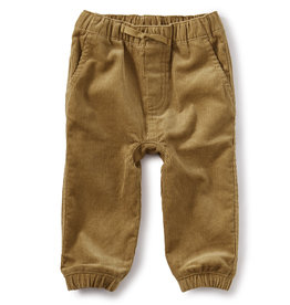 Tea Collection Corduroy Baby Pants - Raw Umber