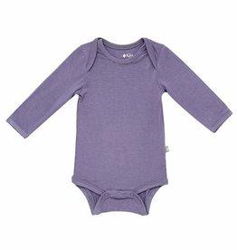 Kyte Baby Long Sleeve Bodysuit in Orchid