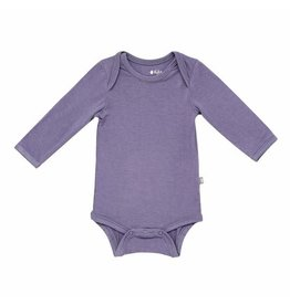 Kyte Baby Long Sleeve Bodysuit in Orchid