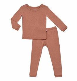 Kyte Baby Toddler Two Piece Pajama Set Spice