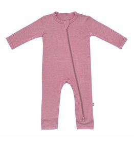 Kyte Baby Zippered Romper Mulberry