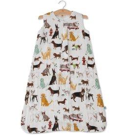 Little Unicorn Cotton Muslin Sleep Bag Large- Woof