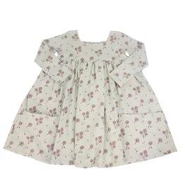 Vignette Long Sleeve Rylie Dress - Frost Dandelion