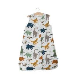 Little Unicorn Cotton Muslin Sleep Bag Medium - Dino Friends