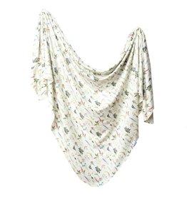 Copper Pearl Knit Blanket - Aspen