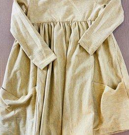 Vignette Rylie Long Sleeve Dress, Honeycomb