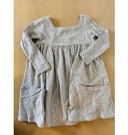 Vignette Long Sleeve Rylie Dress - Frost Stripe