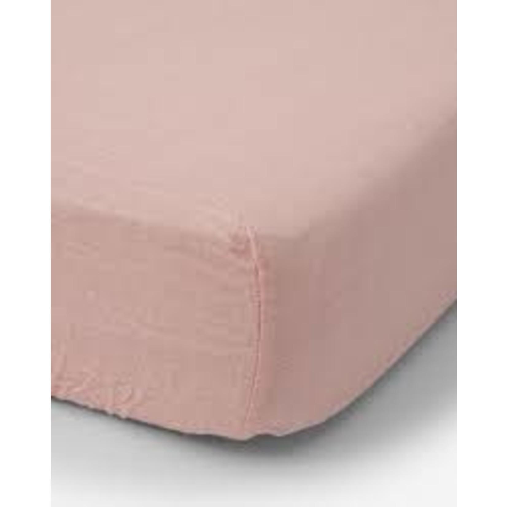 Little Unicorn Cotton Muslin Crib Sheet - Rose Petal