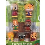 Fat Brain Timber Tots Forrest Friends - Set of 7