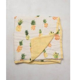 Little Unicorn Deluxe Muslin Quilt - Pineapple