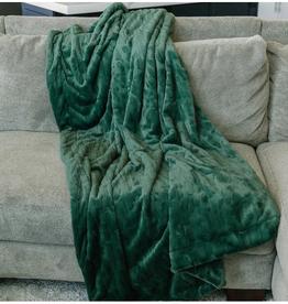 Saranoni Throw Blanket Forest Lush (50''x60'')