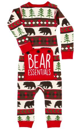 Lazy One Bear Essentials Infant Flapjack