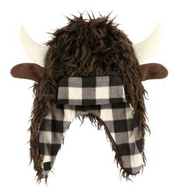 Lazy One Buffalo Critter Cap