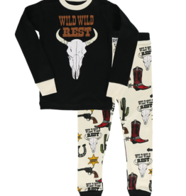 Lazy One Kids 2pc PJ Set - Wild Wild Rest