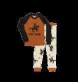 Lazy One Kids 2pc PJ Set - Yee Haw
