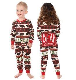 Lazy One Kids Flapjack Pajamas - Bear Essentials