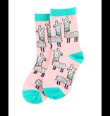 Lazy One Kids Socks - Llama