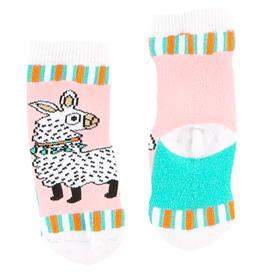 Lazy One Llama Infant Socks