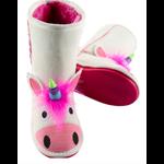 Lazy One Toasty Toez Boots - Unicorn