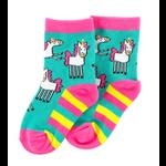 Lazy One Unicorn Infant Socks