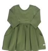 RuffleButts Moss Twirl Dress