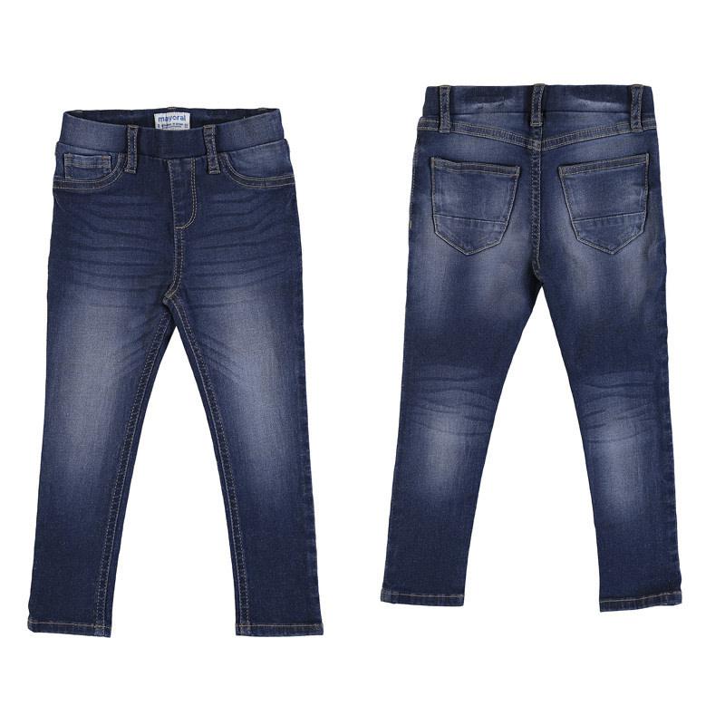 Mayoral Denim Dark Jeans for Girl 4T