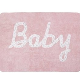 Lorena Canals Baby Petit Point Pink 5x7 Rug