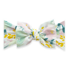 Baby Bling Bows Printed Knot - Sweet Pastels