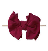 Baby Bling Bows FAB-BOW-LOUS Skinny:  Ruby