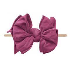 Baby Bling Bows FAB-BOW-LOUS Skinny:  Raspberry