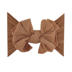 Baby Bling Bows Metallic Fab - Rose Gold