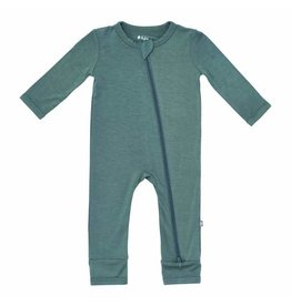 Kyte Baby Zippered Romper Pine
