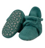 Zutano Cozie Fleece Gripper Bootie -  Fern