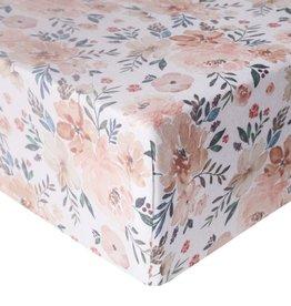 Copper Pearl Premium Crib Sheet Autumn