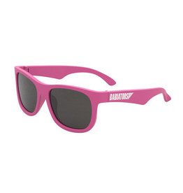 Babiators Babiators Sunglasses - Navigator (Age 0-2) Think Pink