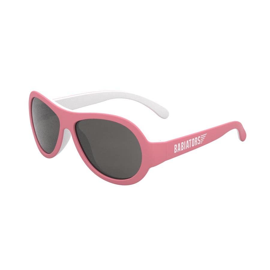 Babiators Babiators Sunglasses - Two Toned Aviators - Tickled Pink  (0-2)