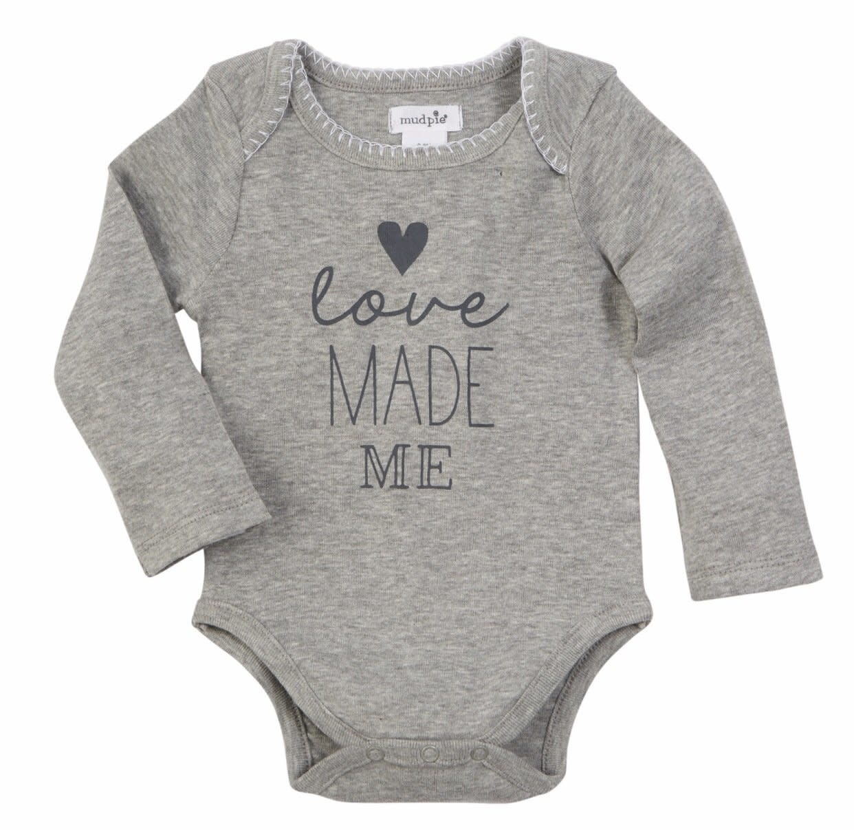 Mud Pie Crawler Love Made Me 0-6M