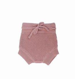 Mebie Baby Knit Bloomers Blush