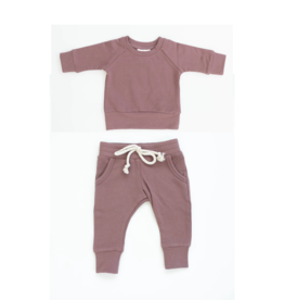 Mebie Baby Rose French Terry Set