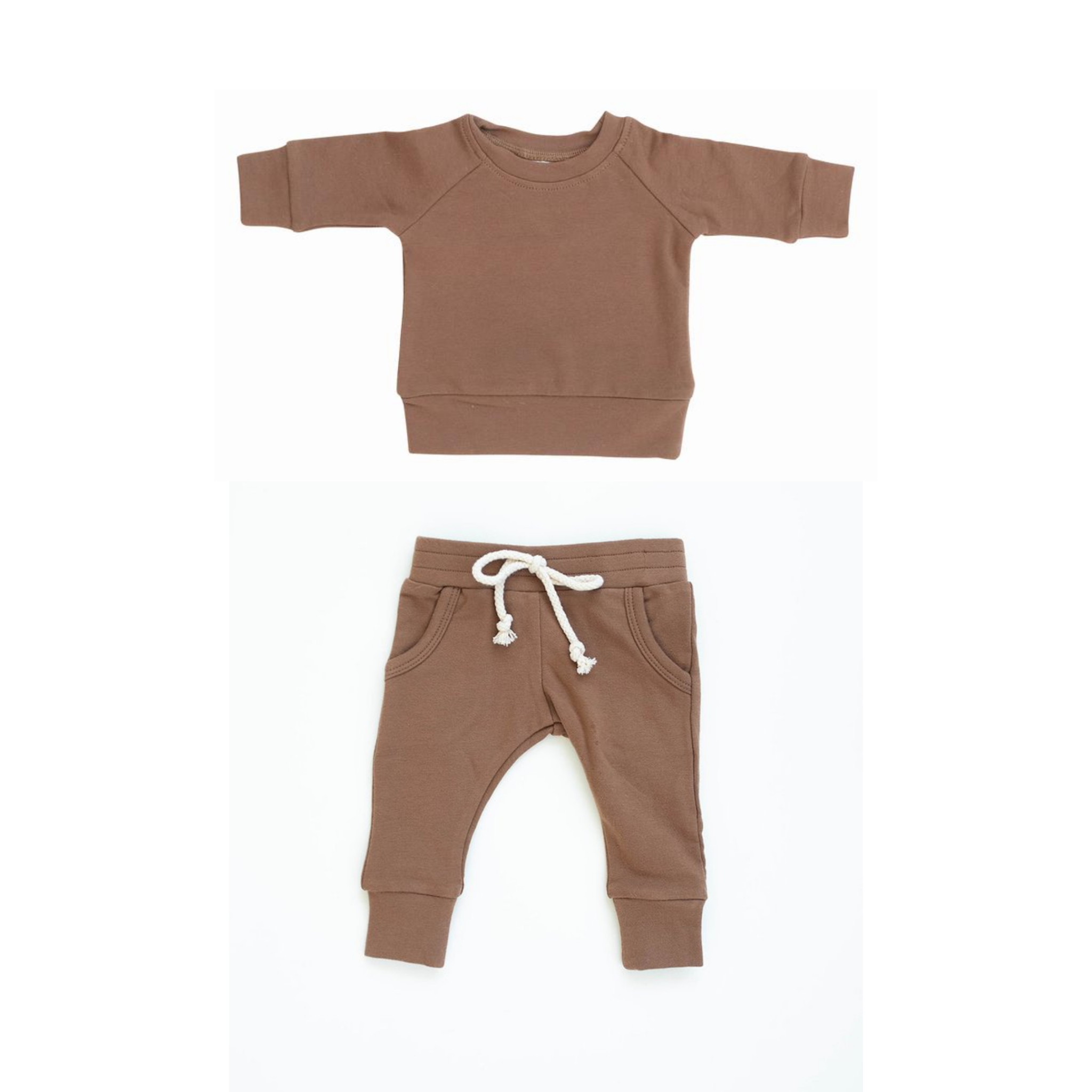 Mebie Baby Camel French Terry Set