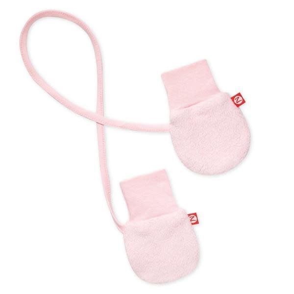 Zutano Cozie Fleece Mitten - Baby Pink