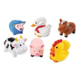 Mud Pie Farm Animal Bath Toys